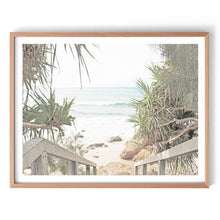 Load image into Gallery viewer, Beach Entrance Photography Print