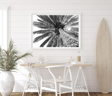 Load image into Gallery viewer, Beneath the Palms - Monochrome Print