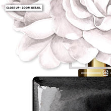 Load image into Gallery viewer, Black & White Floral Perfume Bottle - Art Print