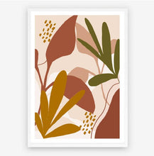 Load image into Gallery viewer, Boho Plants Original Illustration Print