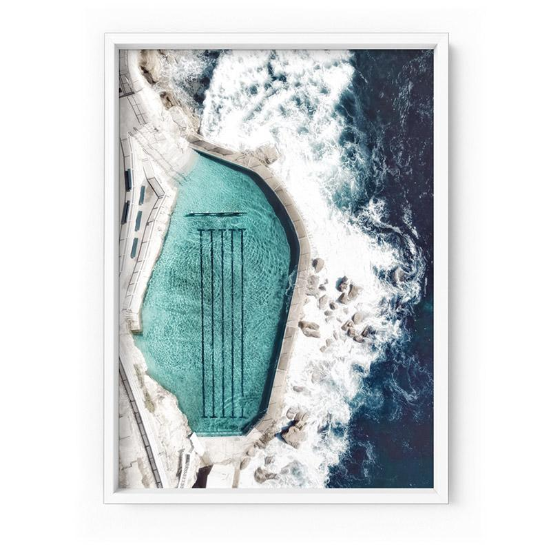 Bronte Rock Pool Aerial II - Art Print