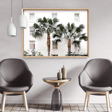 Load image into Gallery viewer, Coastal Palm Resort - Art Print