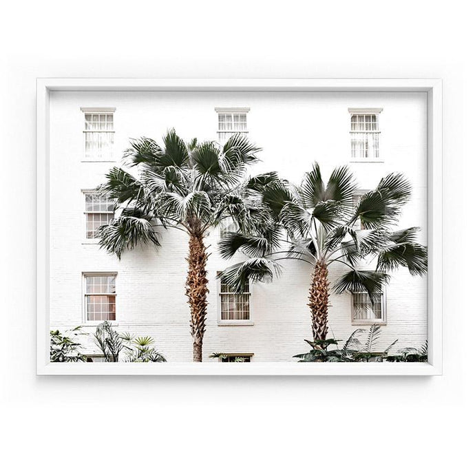 Coastal Palm Resort - Art Print