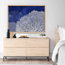 Load image into Gallery viewer, Coral Sea Fans Landscape Blues - Art Print
