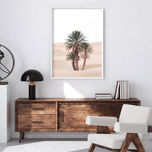Load image into Gallery viewer, Desert Palms on Sand Dunes I - Art Print