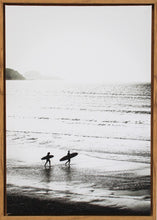 Load image into Gallery viewer, Early Morning Surf Framed Print
