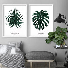 Load image into Gallery viewer, Fan Palm Leaf Watercolour  - Art Print