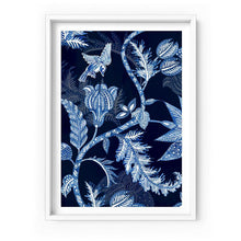 Load image into Gallery viewer, Hamptons Blue Paisley Depths - Art Print