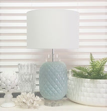Load image into Gallery viewer, Turquoise Island Table Lamp