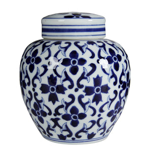 Jonquil Ceramic Jar with Lid