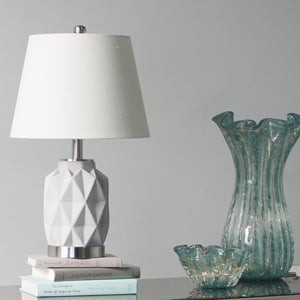 Set of 2 Geo Bedside Lamps