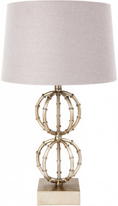 Leila Table Lamp - Antique Silver