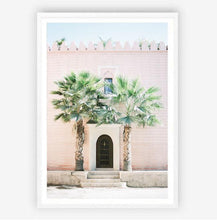 Load image into Gallery viewer, Moroccan Palms Print