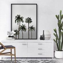 Load image into Gallery viewer, Miami Palms in Monotones - Art Print