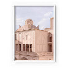 Load image into Gallery viewer, Moroccan Blush Balcony Views - Art Print