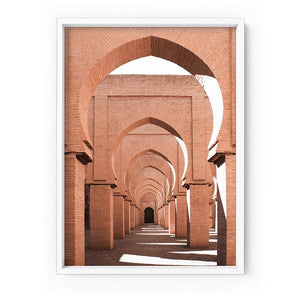 Orange Desert Arches, Tinmel Morocco - Art Print