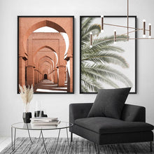 Load image into Gallery viewer, Orange Desert Arches, Tinmel Morocco - Art Print