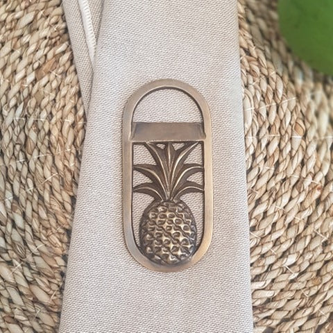 Brass Pineapple Bottle Opener