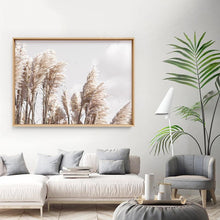 Load image into Gallery viewer, Pampas Grass Landscape in Neutral Tones - Art Print