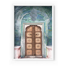 Load image into Gallery viewer, Peacock Doorway in Jaipur City Palace - Art Print