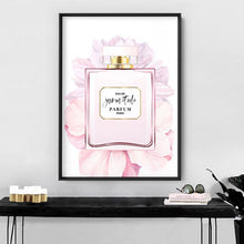Load image into Gallery viewer, Perfume Bottle Floral III - Art Print