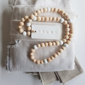 Timber and Tag Beads