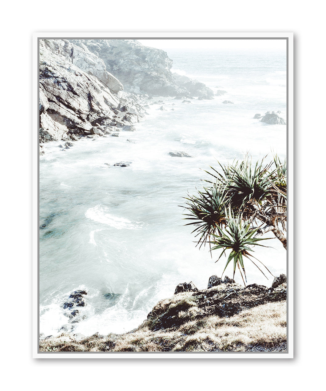 Rocky Beach Views Framed Print