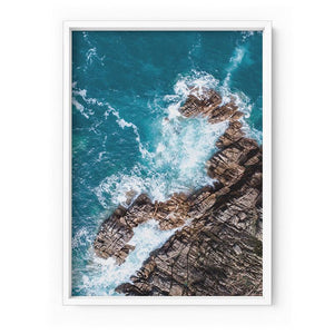 Rocky Coast from Above III - Art Print