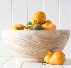 Gaia Rustic Timber Bowl