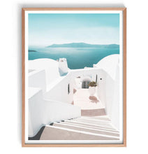 Load image into Gallery viewer, Santorini View Print