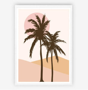 Summer Palms Original Illustration Print