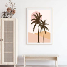 Load image into Gallery viewer, Summer Palms Original Illustration Print