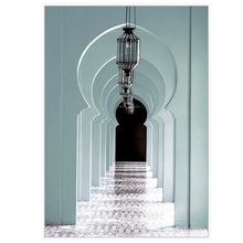 Load image into Gallery viewer, Teal Archways to Morocco Premium Edition
