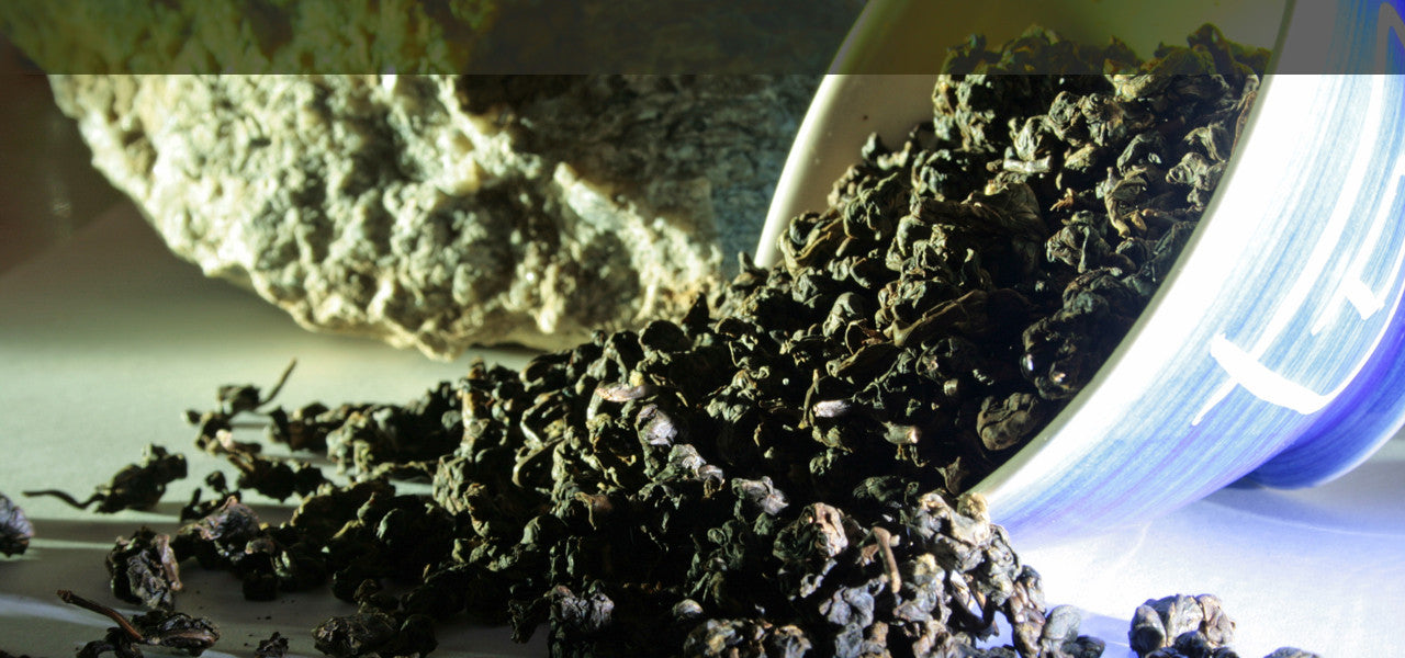 Iford Manor Teas - oolong experts