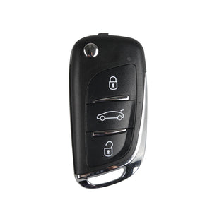 XHORSE XNDS00EN DS Style Wireless Universal Remote Key 3 Buttons