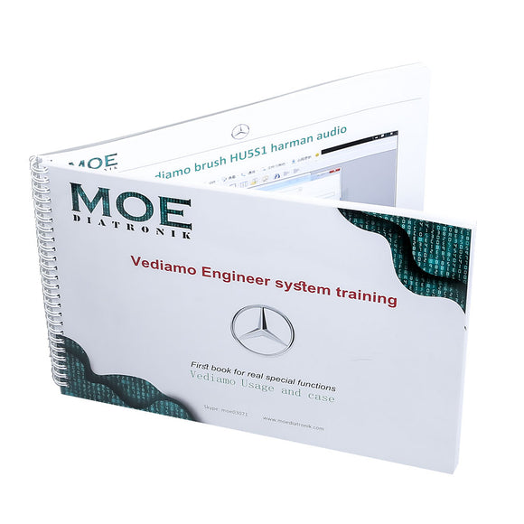 Benz Vediamo book by MOE DIATRONIK Vediamo Engineer System Training Book Vediamo Usage and Case