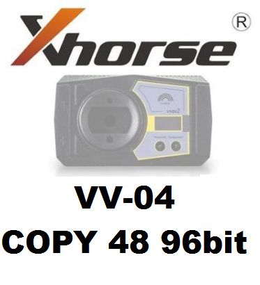 Xhorse VVDI2 96bit ID48 Copy Activation VV-04 with 1500 Bonus Points and Free MQB Authorization