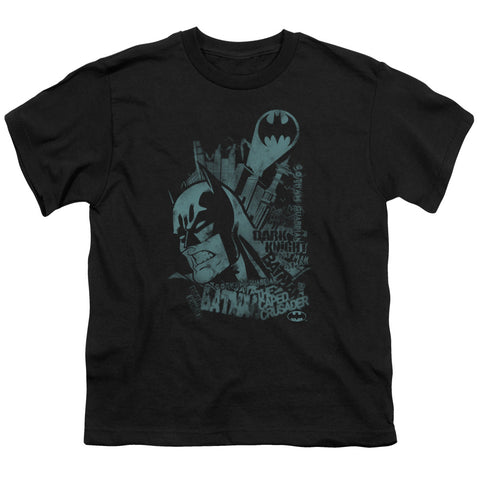 Batman - Gritted Teeth Short Sleeve Youth 18/1