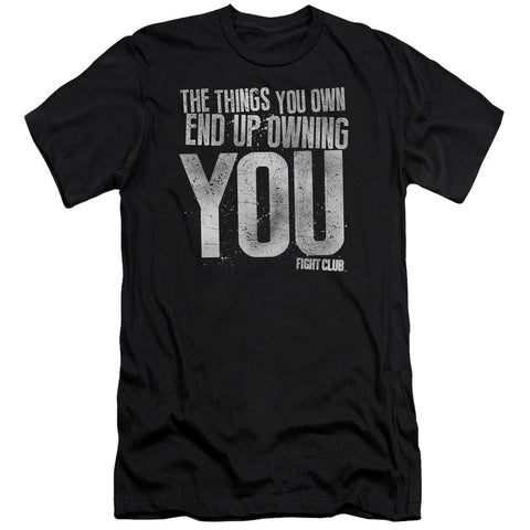 Fight Club - Owning You Premium Canvas Adult Slim Fit 30/1 - Punchy