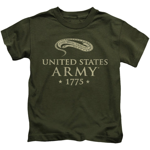 Army - We'll Defend Short Sleeve Juvenile 18/1