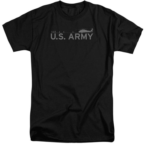 Army - Helicopter Short Sleeve Adult Tall - Punchy