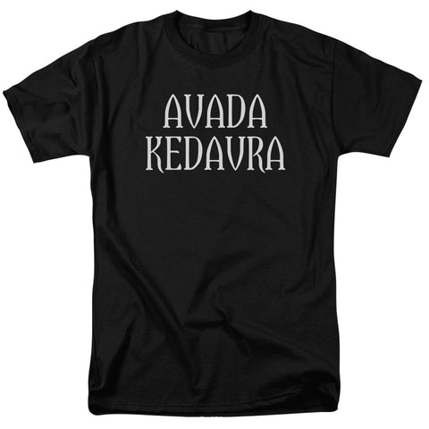 Harry Potter - Avada Kedavra Short Sleeve Adult 18/1