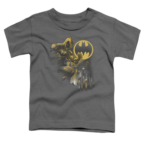 Batman - Bat Signal Short Sleeve Toddler Tee