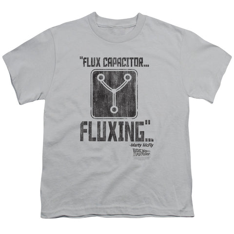 Back To The Future - Fluxing Short Sleeve Youth 18/1