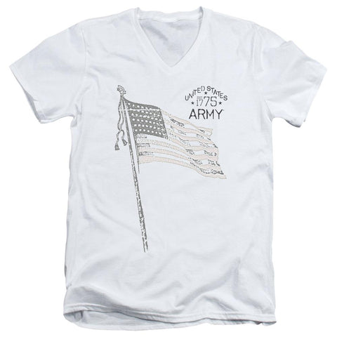 Army - Tristar Short Sleeve Adult V Neck - Punchy