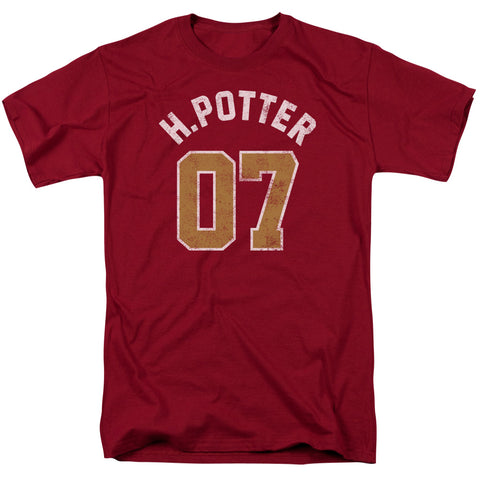 Harry Potter - Potter Jersey Short Sleeve Adult 18/1