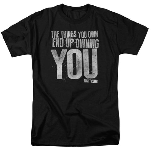 Fight Club - Owning You Short Sleeve Adult 18/1 - Punchy