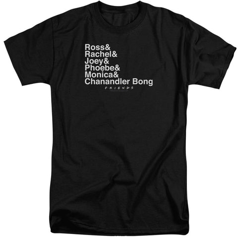 Friends - Chanandler Bong Short Sleeve Adult Tall - Punchy