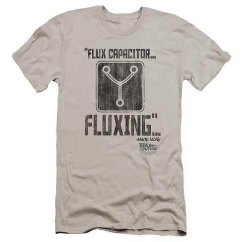 Back To The Future - Fluxing Premium Canvas Adult Slim Fit 30/1