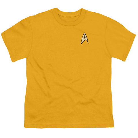 Star Trek - Command Uniform Short Sleeve Youth 18/1